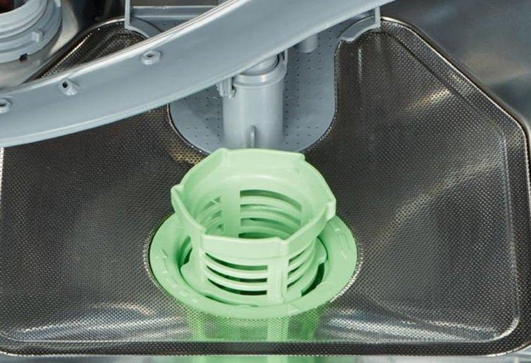 Очистка фильтра посудомоечной машины