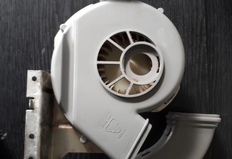 Замена вентилятора в посудомоечной машине
